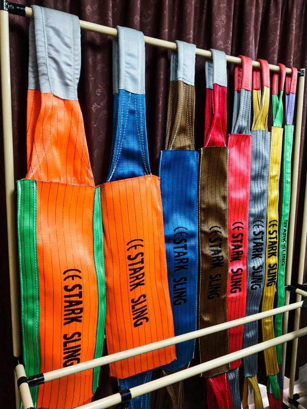สายผ้า สลิงผ้า สลิงอ่อน สลิงผ้าใบ โพลีเอสเตอร์ สายโพลีเอสเเตอร์เปล่า เซฟตี้สลิง safety sling สายยกแบน สายแบน สายรัดโพลีเอสเตอร์ สลิงแบน สายกลม สลิงกลม สายรัดของ ชุดสายรัดโพลีเอสเตอร์ สายรัดก๊อกแก๊ก ชุดสายรัด ก๊อกแก๊ก สายรัด สเก็น สายก๊อกแก๊ก หัวสายรัด ตะขอ สเก็นโอเมก้า round sling, webbing sling, ratchet tie down จักรอุตสาหกรรม